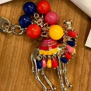 New Kate Spade Spice Things Up Camel Keychain